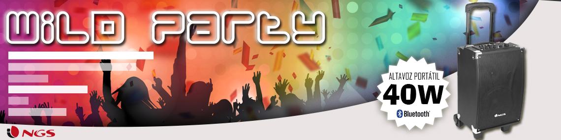 NGS Sistema de Sonido Wild Party