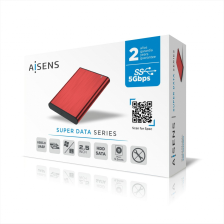 AISENSASE-2525RED