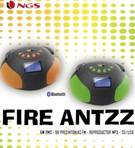 NGS Radios Fire Antz