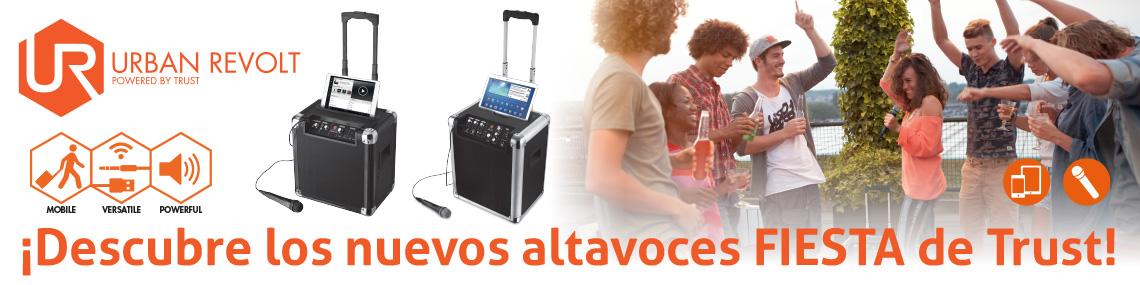 Altavoces Fiesta Urban Revolt