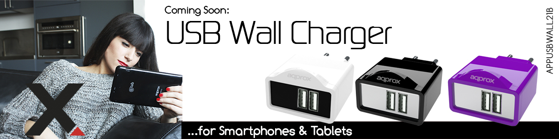 Approsx usb Wall Charger