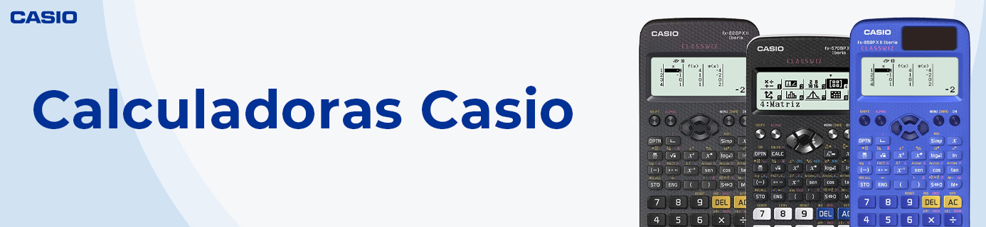 CALCULADORAS CASIO