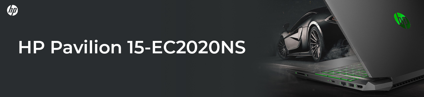 Portátil Gaming HP Pavilion 15-EC2020NS Ryzen 7