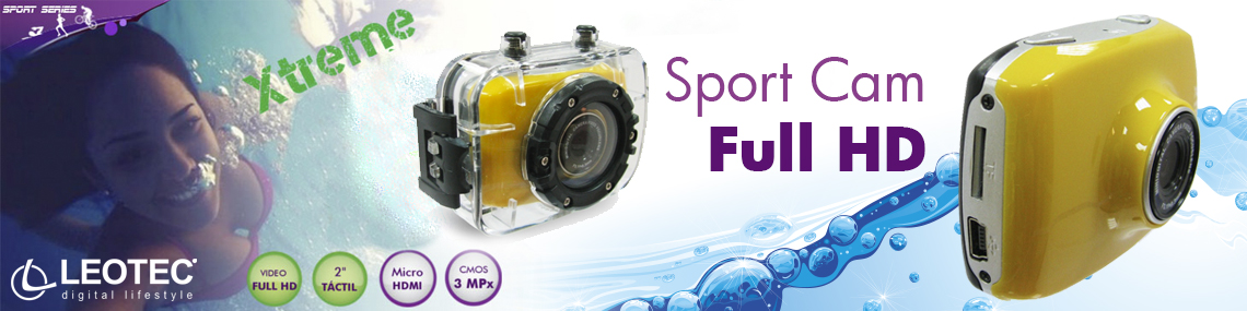 Leotec SporCam - Full HD