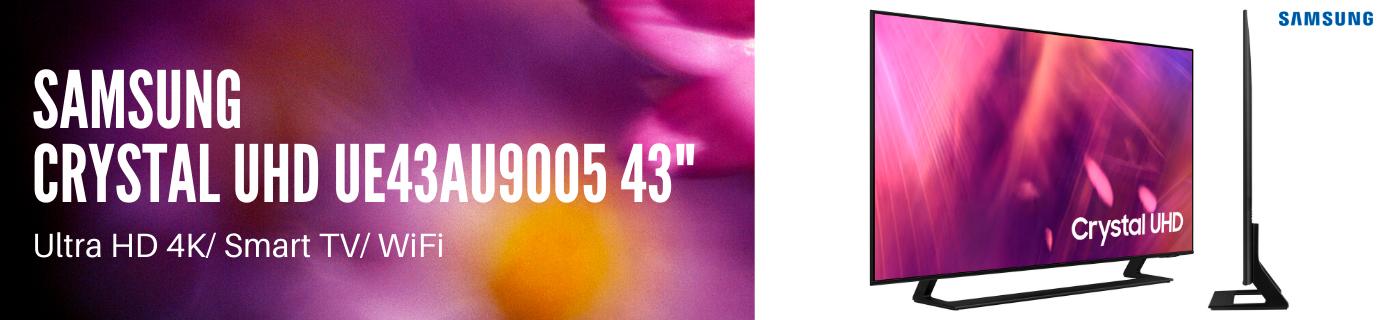 """Samsung Crystal UHD UE43AU9005 43"""""""